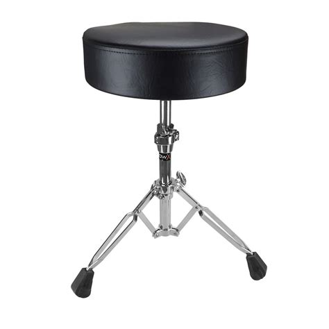 Percussion Stool by Shaw Standard Vinyl Black Drum Stool Mickleburgh