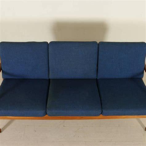 couch cushion springs three seat sofa by cado teak springs cushions fabric