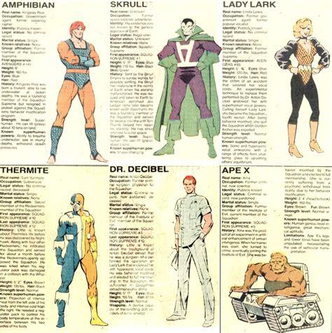 supremo marvel superheroes escuadron supremo marvel universe