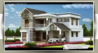 Home Design Gallery kerala home design for 4 bedroom villa at 1983 sq ft
