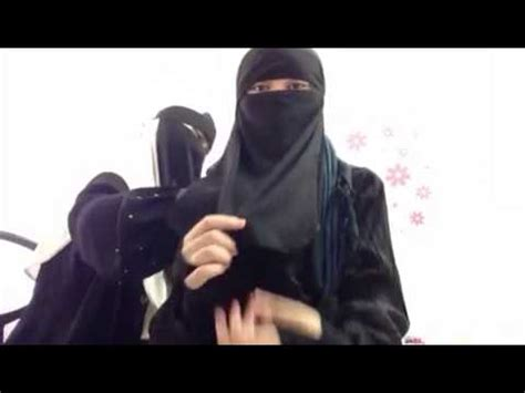 Tutorial Niqab Yemen | tutorial niqab yemen 2 layer youtube