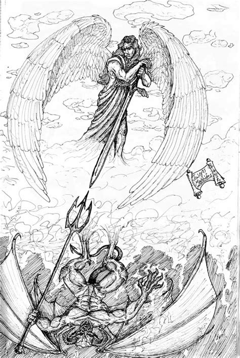 angel vs devil tattoo designs grey ink vs tattoos design