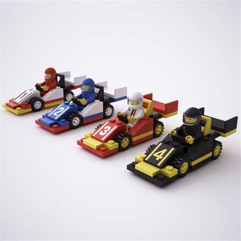 Lego Car Racing 2 3d model lego race cars