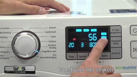 reset samsung ecobubble samsung wf80f5e5p4w met ecobubble technologie wasmachine