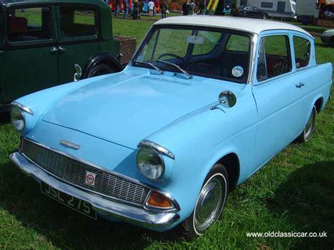 Blue Interior Design the ford 105e anglia launched 1959