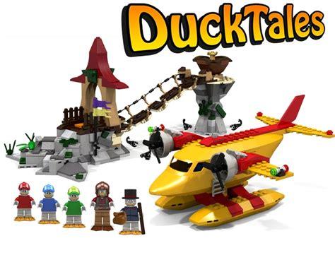 Lego Batman Duck Set lego ideas ducktales