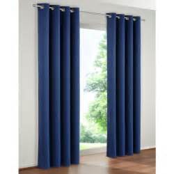 paire de rideaux rideau occultant couleur bleu 140 x 260