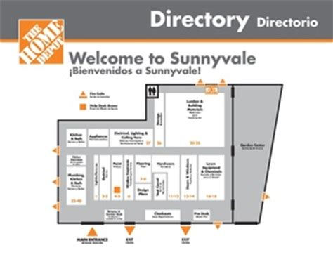 home depot store layout map www pixshark images