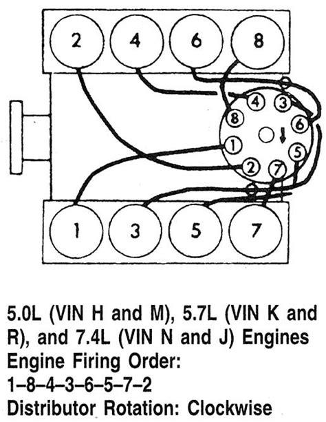 firing order chevy 350 1998 autos post