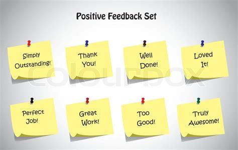 testo pictures of you einfache eindeutig positives feedback text post it notes