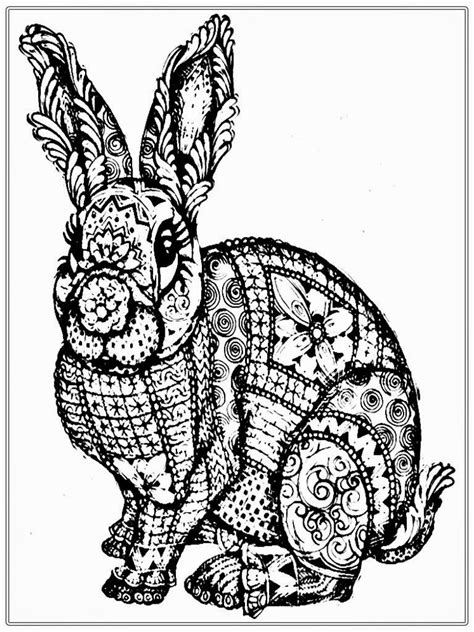 coloring canvas coloring pages bunny coloring pages for adults designs
