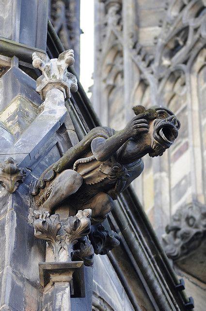 prague cathedral gargoyle architecture
