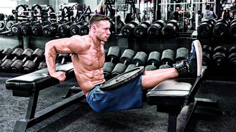 muscle media bench straight up triceps for bigger arms muscle fitness