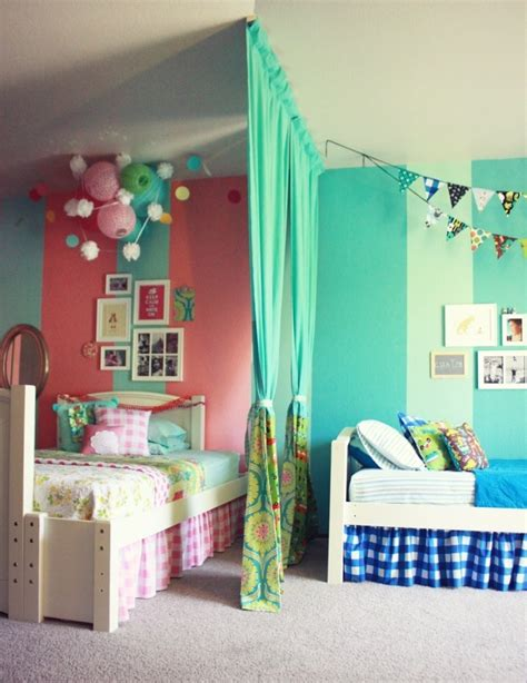 shared girls bedroom ideas pepper and buttons best boy girl shared room ideas