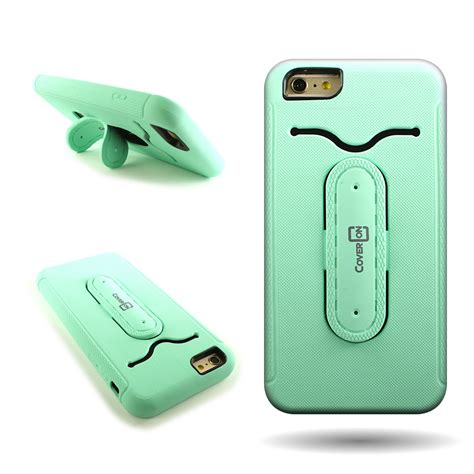 Ring Iphone 6 Plus ring kickstand hybrid protective phone cover for