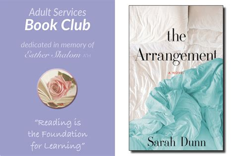 the arrangement a novel books book club the arrangement sephardic community center