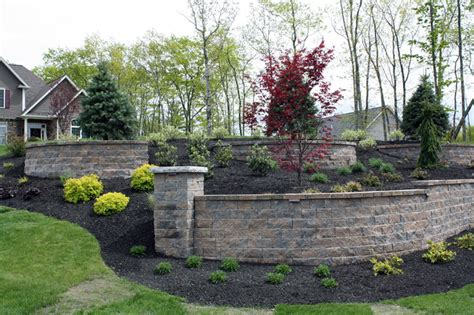 front yard retaining wall new hshire landscaping front yard retaining