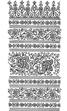 pattern band tattoo paisley designs 4 kleurplaten pinterest coloring