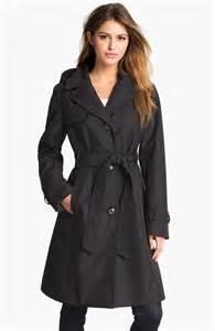 ellen tracy collection trench coat  detachable hood