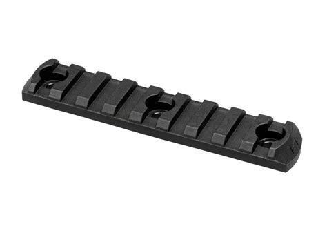 magpul polymer rail section m lok rail section polymer 9 slots black magpul rails
