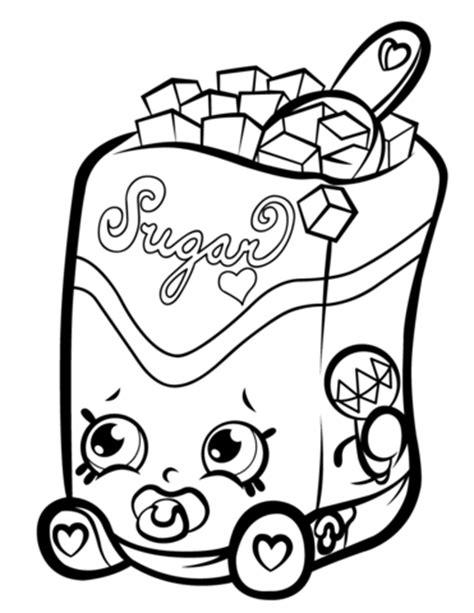 Colouring Book Sweet Princess sugar lump shopkin coloring page free printable coloring