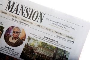 wall street journal real estate section wsj seeks editor for mansion talking biz news