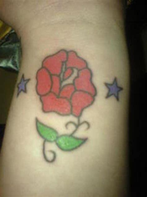 rose and star tattoo designs 52 wrist tattoos