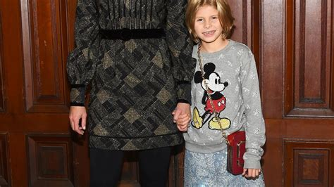 niki taylor brings adorable daughter  marc jacobs show