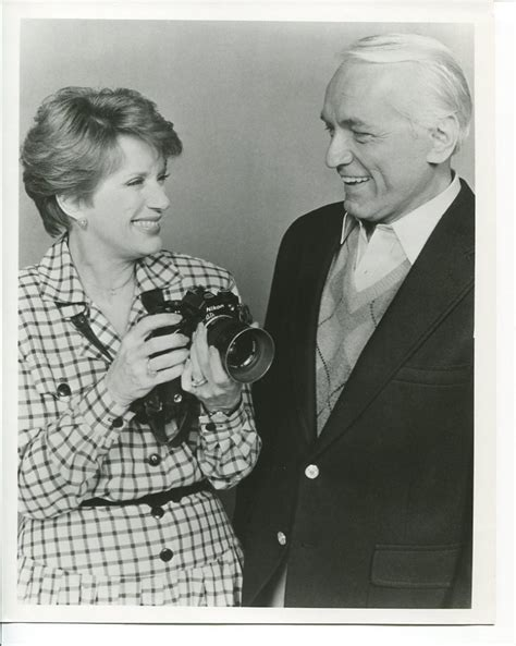 nancy dussault too close for comfort too close for comfort press photo ted knight nancy