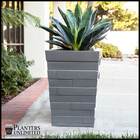 Large Lightweight Outdoor Planters by Modern Planter Boxes Outdoor Lightweight Large