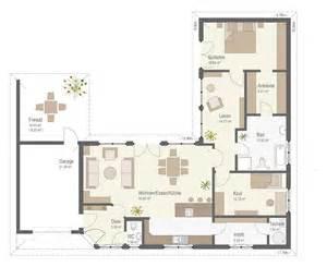 haus grundrisse bungalow 159 fertighaus keitel