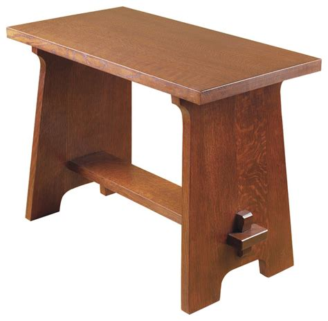 stickley bench stickley gustav stickley fireside stool 89 294