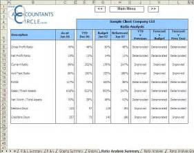 financial management reporting system excel templates