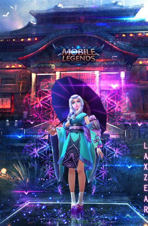 tutorial kagura mobile legend kagura mobile legends by laxzear on deviantart