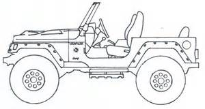 How To Draw A Jeep The Gallery For Gt Jeep Wrangler Drawing