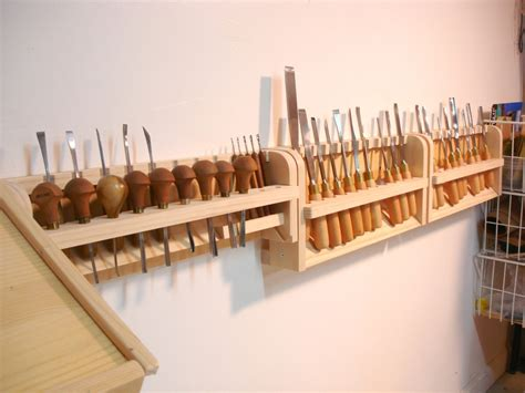 Chisel Rack by More Gouge And Chisel Racks