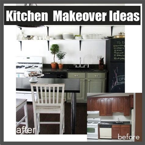 diy kitchen makeover ideas 10 kitchen cabinet makeover ideas diy home things