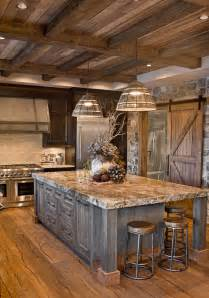 Rustic Kitchen Island Ideas by Best 25 Rustic Kitchens Ideas On Rustic