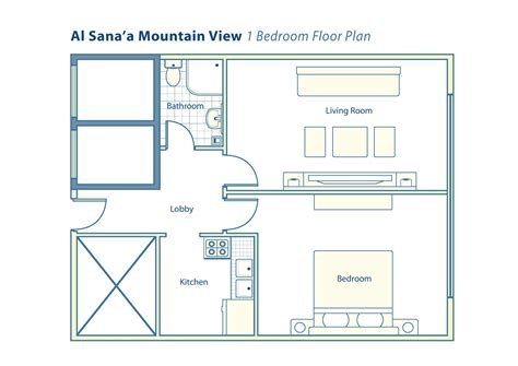 mountain view floor plans al sanaa mountain view 1 bed floor plan rak
