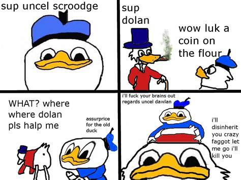 Donald Duck Face Meme