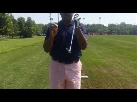 shorter golf swing how to hit short irons golf swing series youtube