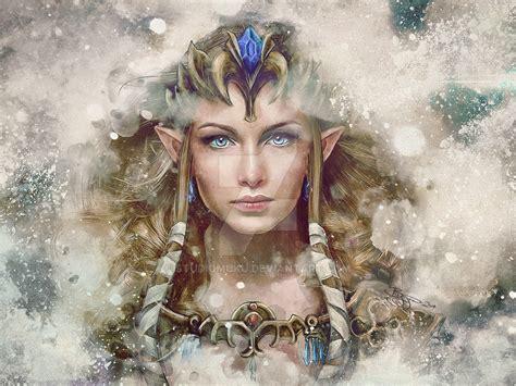 painting princess legend of epic princess painting by studiomuku on