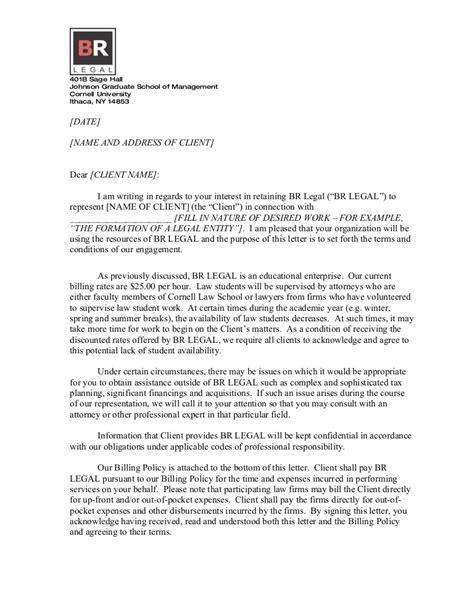 Tax Engagement Letter Template by Form Client Engagement Letter Doc