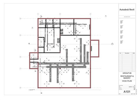plan drawings hvac drawings restaurant bakery hvac design