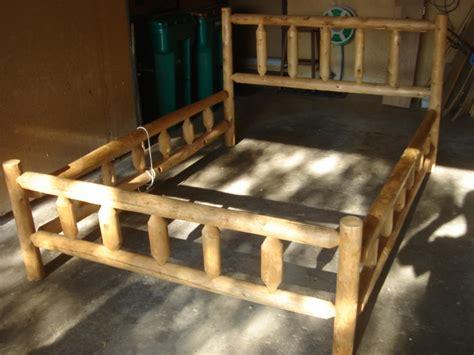 Pine Log Bed Frame Pine Log Bed Frame American History Antiques