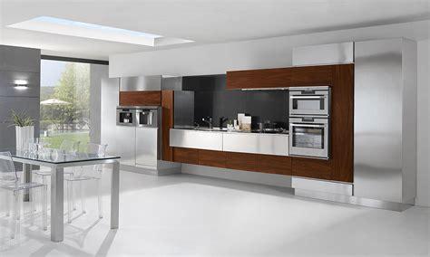 cucina in acciaio 20 cucine in acciaio dal design moderno con un tocco
