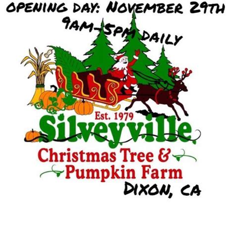 silveyville christmas tree farm 95620 dixon 6260