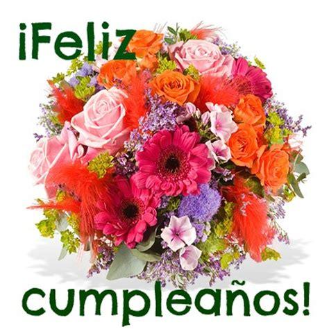 imagenes flores de cumpleaños saludo de cumplea 241 os con flores mandarsaludos com