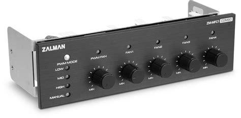 pwm fan controller zm mfc1 combo 5 channel fan controller