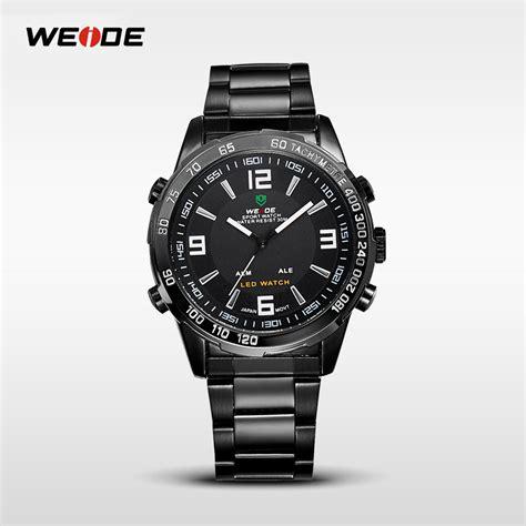 Traveller Tempat Jam Tangan Sport Isi 3 Black Crem weide jam tangan sporty pria wh1009 black black